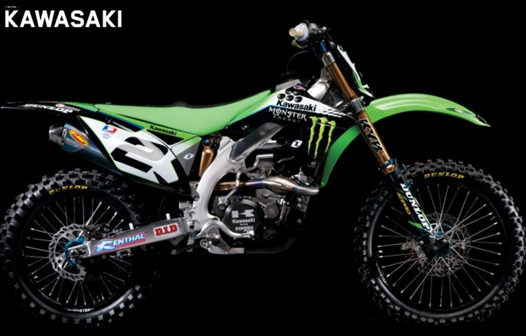 Kawasaki Kxr Accessories