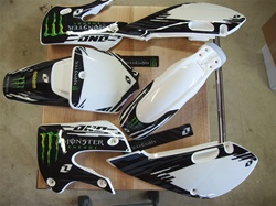 Klx 110 Monster Energy White 10