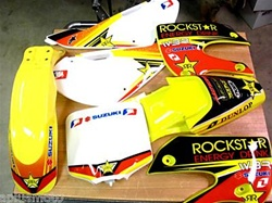 Klx 110 Rockstar Yellow09 One Industrie