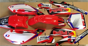 Klx Kawasaki Red Bull Graphics Klx 02-09 kx 65 00-16